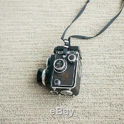 Rollei Rolleiflex 2.8 Zeiss Planar TLR 120 Medium Format Film Camera Vintage
