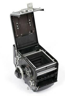 Rollei Rolleiflex 2.8F 6X6 TLR Camera Planar 80mm F2.8 Lens + cap case diffuser