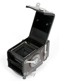 Rollei Rolleiflex 2.8FX 6X6 TLR Camera Planar 80mm F2.8 Lens + extras CLA
