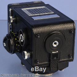 Rollei Rolleiflex 2.8f Hft Planar Platin Platinum Limited Tlr Camera Mint Rare