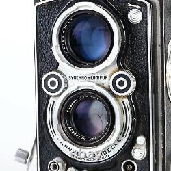 ^Rollei Rolleiflex 3.5 with Tessar F3.5 75mm Medium Format 6x6 TLR Camera READ