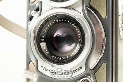 Rollei Rolleiflex 4x4 Baby Grey 127 Film Tlr Camera. S. N. 2059646