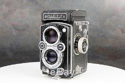 ^Rollei Rolleiflex MX-EVS 6x6 TLR with Schneider Kreuznach Xenar 75mm f/3.5 Lens