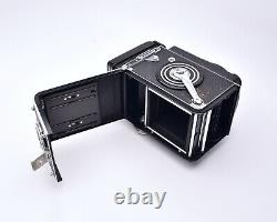 Rollei Rolleiflex TLR Film Camera Carl Zeiss Planar f/2.8 80mm Lens READ (#8049)