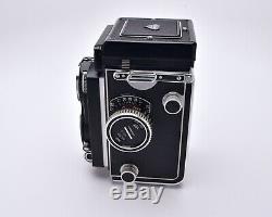 Rollei Rolleiflex TLR Film Camera Carl Zeiss Tessar f/3.5 75mm Lens READ (#5411)