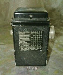 Rolleicord II Model 1/1st 120 Film TLR Camera Triotar 7.5cm F3.5 Carl Zeiss Lens