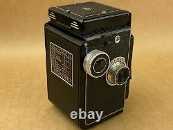 Rolleicord III vintage 6x6 TLR camera with 75mm Xenar Lens takes 120 Film Works