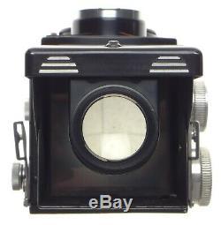 Rolleicord TLR 120 film medium format camera Xenar 3.5/75mm Schneider lens cased