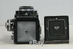 Rolleiflex 2.8 E-III Planar with Cap and Meter TLR Film Camera