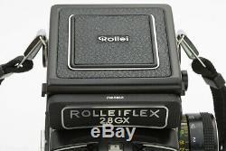 Rolleiflex 2,8 GX TLR mit Planar f/2,8-80mm, vom Rollei Service überholt
