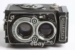 Rolleiflex 2,8 TLR 6x6 mit Tessar 2,8/80 Zeiss Opton T