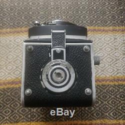 Rolleiflex 2.8A 80mm F/2.8 Ziess Tessar 6x6 Medium Format TLR Camera Serviced