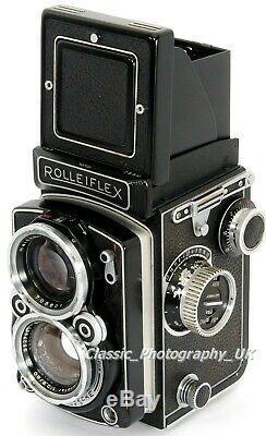 Rolleiflex 2.8D 6x6cm TLR Camera + Schneider-Kreuznach XENOTAR 12.8/80mm Lens