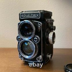 Rolleiflex 2.8D K7D Zeiss 80mm Planar f/2.8 Lens