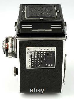 Rolleiflex 2,8E TLR 6x6 mit Carl Zeiss Planar 2,8/80 SHP 66155