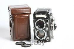 Rolleiflex 2,8E TLR 6x6 mit Carl Zeiss Planar 2,8/80, Seriennummer 1621008
