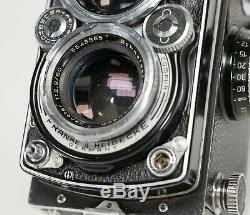 Rolleiflex 2.8E Xenotar 80mm f2.8 Medium Format TLR with Mirror Cap