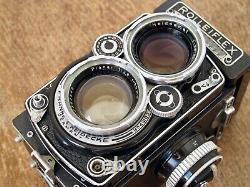 Rolleiflex 2.8E Zeiss Planar TLR 80mm F2.8 Rollei 6x6 Medium Format Film Camera