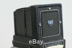 Rolleiflex 2.8F 12x24 Planar with Cap, Strap, Meter & Box TLR Film Camera