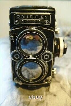 Rolleiflex 2.8F 80mm Zeiss Planar f2.8 Twin Lens Reflex 6x6 used