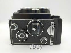 Rolleiflex 2.8F Planar 80mm Zeiss con Custodia In Pelle e Scatola