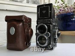 Rolleiflex 2.8F TLR 120 Film Camera CLA'd 11/2020 + Case