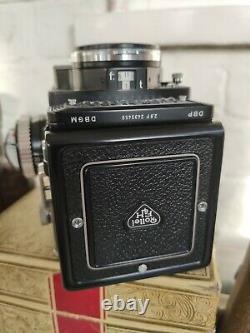Rolleiflex 2.8F TLR 120 Film Camera Excellent Bundle