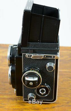 Rolleiflex 2.8F TLR Medium Format Camera with Planar 80mm f/2.8 Just Overhauled