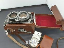 Rolleiflex 2.8F Twin Lens Reflex TLR Camera Carl Zeiss Planar f=80mm f2.8 Lens