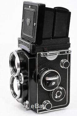 Rolleiflex 2.8F, With Planar 80mm f2.8 + Caps and Case, Great Cond