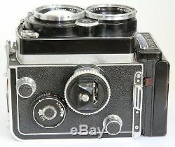 Rolleiflex 2.8f Tlr Camera Checked W. Film Carl Zeiss Planar 80/2.8 80mm F2.8