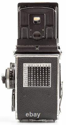 Rolleiflex 2.8f Twin Lens Reflex TLR Kamera-Carl Zeiss Planar 80mm f2.8 Objektiv