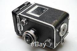 Rolleiflex 3,5 C Zeiss Planar 75mm F3.5 TLR GEWARTET / SERVICED