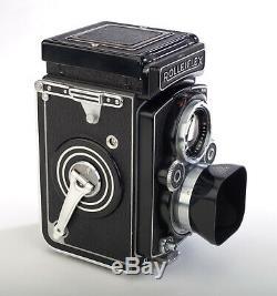 Rolleiflex 3.5 MX-EVS Automat 6x6 Camera TLR Zeiss Tessar Lens 120 Film Rollei