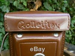 Rolleiflex 3.5A Automat Model 4 MX Twin Lens Reflex TLR Camera & Case