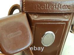 Rolleiflex 3.5B 6x6 Zeiss Tessar 75mm f3.5 IN PERFECT WORKING ORDER