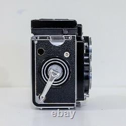 Rolleiflex 3.5F Carl Zeiss Planar 75mm F3.5 TESTED SERVICED