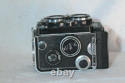 Rolleiflex 3.5F Cross Coupled Planar with Cap TLR Film Camera