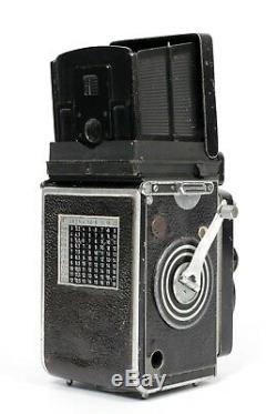 Rolleiflex 3.5F II 6X6 Medium Format TLR Film Camera with Planar 75mm F3.5 Lens