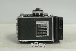 Rolleiflex 3.5F Xenotar TLR Film Camera with Cap, New Strap & Meter