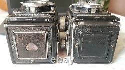 Rolleiflex 3,5F and rolleiflex 3.5B
