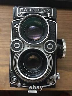 Rolleiflex 3.5F with 6-Element Planar Fully Serviced by Newton Ellis