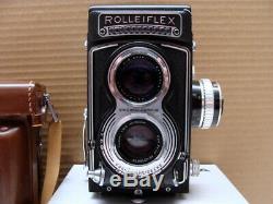 Rolleiflex 3.5T Mittelformat TLR Tessar 3.5/75mm 1a Sammlerstück TOP