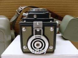 Rolleiflex 4x4 Mittelformat TLR Xenar 3.5/60mm 1a Sammlerstück TOP