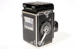 Rolleiflex B (type K4B) TLR Zeiss Tessar 3.5/75mm Synchro-Compur
