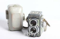 Rolleiflex Baby 4x4 grau mit TLR Schneider Kreuznach XENAR 3,5/60 + Tasche