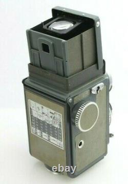 Rolleiflex Baby Grey 4x4 Twin Lens Reflex 127 Film Camera Xenar 60mm f3.5 lens