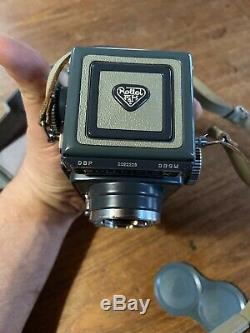 Rolleiflex Baby Rollei 4x4 TLR Schneider Xenar 60mm 13.5 Lens NEAR MINT