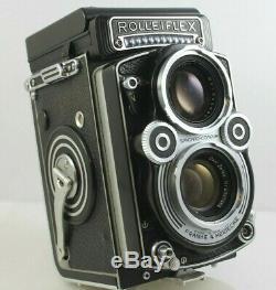 Rolleiflex Model F Twin Lens Reflex TLR Film Camera Planar 3.5F 75mm