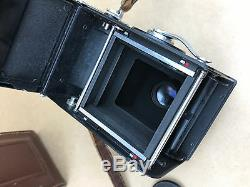 Rolleiflex Rollei Magic 3.5 TLR 120 Film Camera with Xenar Lens Just Serviced